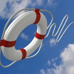 Life Preserver to represent saving a relationship